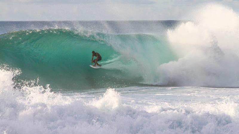 Playa Hermosa es un gran destino para surfear.