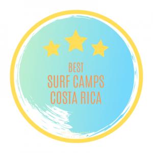 Los mejores Surf Camps de Costa Rica y el sello de calidad de nuestra web.