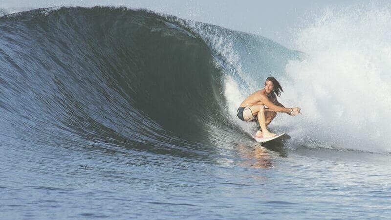 Playa Dominical es una de las más famosas de Costa Rica para practicar surf.