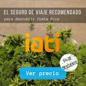 Seguro de viaje recomendado para ir a Costa Rica