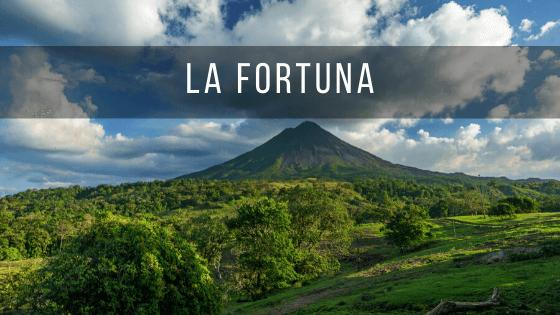 La Fortuna es uno de los sitios más visitados de Costa Rica.