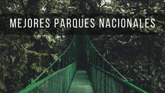 En los mejores parques nacionales de Costa Rica podrás ver animales y paisajes increíbles.