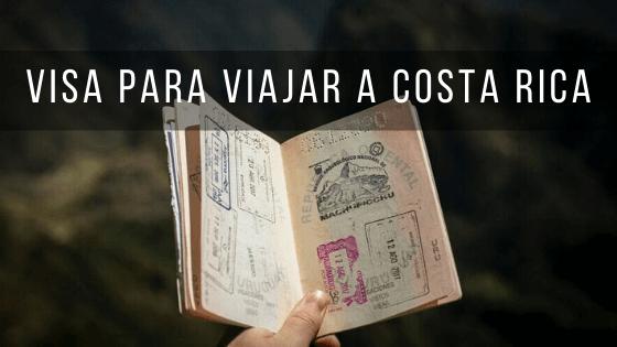 Dependiendo de tu país de residencia necesitarás un tipo de pasaporte u otro viajar a Costa Rica.